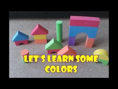 Learn Colours with Playtive Junior Foam Building Blocks