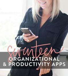 17 Organizational & Productivity Apps