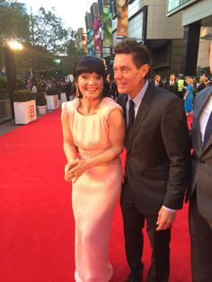 Essie Davis and Nathan Page causing mischief on the Logies red carpet