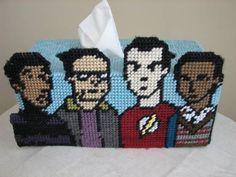 Big Bang Theory; plastic canvas