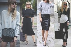 Cropped sweater, moletom cropped, looks para se inspirar, inspiration , looks, outfits, style, street style, estilo , fashion, moda