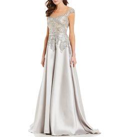 c4b9cb1d29c9 Shop for Terani Couture Sequin Lace Cap Sleeve Ball Gown at Dillards.com.  Visit