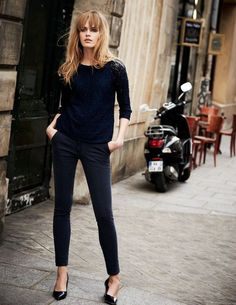 Simple Street Fashion Style For Women 26