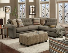 Erin Living Room Set by Fusion at Crowley Furniture in Kansas City