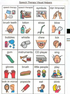 Speech Therapy picture cards and activity ideas.  Visuals Helpers.  http://www.livingwellwithautism.com/picture_cards_and_visual_helpers_to_download_and_print/speech_therapy_picture_cards