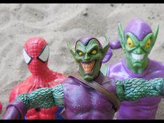 Duende Verde Green Goblin Marvel   x Homem Aranha Iron Spider Ferro Spid...