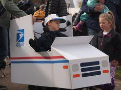 Mailman Wheelchair Costume