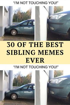 The love-hate relationship is a unique one, especially when talking about siblings. Unconditional love forged Funny Corny Jokes, Yoda Funny, Punny Puns, Short Jokes Funny, Dark Humor Jokes, Funny Disney Jokes, Cheesy Jokes, 9gag Funny, Funny Laugh