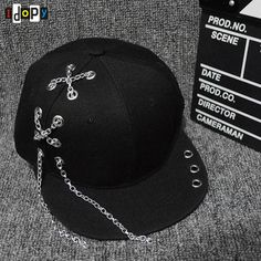 Bright Baseball Caps Men Flat Hat Snapback Cap Women Hip Hop Letter S72 Various Styles Men's Hats