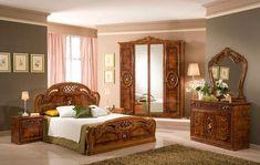 Dark Furniture, Classic Furniture, Furniture Styles, Bedroom Furniture, Furniture Design, Wooden Furniture, Traditional Bedroom, Traditional Furniture, Wooden Kitchen Set