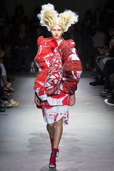 Comme des Garçons - Spring 2015 Ready-to-Wear - Look 7