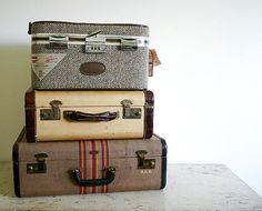 VIntage Suitcase - $55