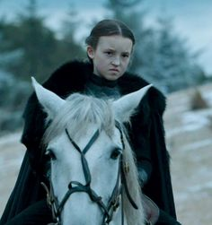 The ferocious, Lady Lyanna Mormont.