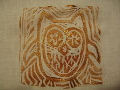 #owl on cotton.    save on party and craft supplies for 2013 ..up to 70% off retail... #arts ..#crafts .. #sewing ... share .. repin .. like  :)    http://amzn.to/13iw3yo