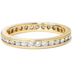 1ct Channel Set Diamond Eternity Ring 14K Yellow Gold * Details can be found by clicking on the image.(This is an Amazon affiliate link and I receive a commission for the sales)