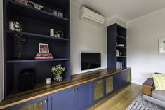Renovation completed in Malvern East Melbourne. Design by Eat Bathe Live. Home Office Space, Kitchen Design, Living Room, Bedroom, Live, Eat, Interior, Melbourne, Extensions