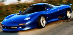 1990 Jaguar XJR-15 #car
