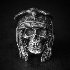 One of Skulls rings he wears