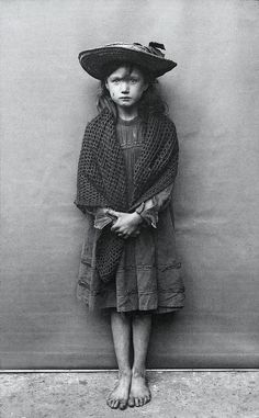 A Victorian street urchin. Madeleine discovered that her family tree included pickpockets and shoplifters