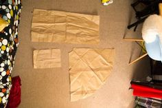 Step 3 – Trace and Cut Your Patterns & Your Fabric - How to Make an Infinity Dress – A Step by Step Guide - EverAfterGuide Infinity Dress, To Infinity And Beyond, Clothing Items, Paper Shopping Bag, Projects To Try, Fabric, Step Guide, Hamilton, Magazines