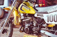 Yamaha Hannah  1981 250cc air cooled Works bike.