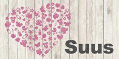 Geboortekaart hart icoontjes | birth announcement | MEISenMANNEKE | Lief geboortekaartje met hart met icoontjes en hout. De kleur is naar wens aan te passen.