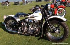 harley davidson custom motorcycles gallery | 1940 Harley-Davidson EL Knucklehead