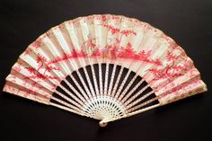 The color of feelings, fan circa 1770 Antique Fans, Vintage Fans, Hand Held Fan, Hand Fan, Chinese Fans, Hot Hands, Umbrellas Parasols, Keep Cool, Hot Flashes