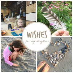 My Wishes for My Daughters (Plus a review of the personalized children's book, I Wish You More.)