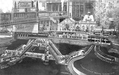 London's Hidden Tunnels: These Amazing Vintage Cutaway Diagrams Show Extraordinary Views of Piccadilly Circus' Underground Station ~ vintage everyday London Underground Stations, Science Magazine, Piccadilly Circus, London History, What Lies Beneath, London Pictures, London Transport, London Places, Old London