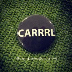 Dont know why i find this sooooo damn funny.?! But I DO..........................................................CARRRL the walking dead funny pinback button by rainbowalternative, $2.00