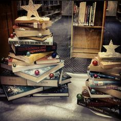 bookstore christmas windows - Google Search