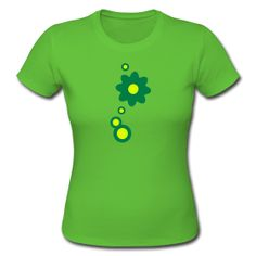 Gute Laune!  Frauen Girlieshirt  Figurbetontes Shirt für Frauen, 100% Baumwolle, Marke: Continental Clothing