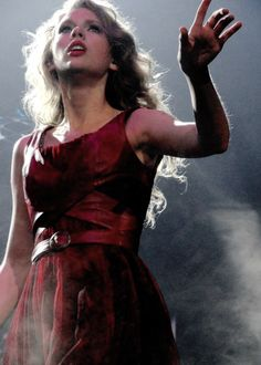 She looks this way a lot in the Speak Now and RED eras. They weren't very nice years for her, especially RED.