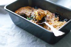 Portobello Kale Stout Pie with Sweet Potato Mash Crust
