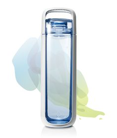 Simple, functional, clean water bottle great for workouts or office.