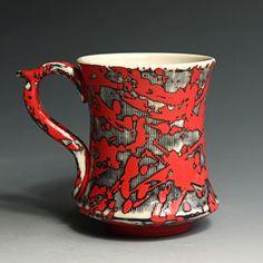 Jim Gottuso, Porcelan Mug, In Tandem Gallery www.InTandemGallery.com