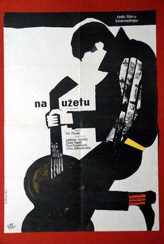 tight-rope-czech-1963-very-rare-czech-movie-poster