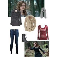"""Hermione from Harry Potter"" by ofektsuk on Polyvore"