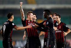 Milan Ungguli Chievo di Babak Pertama