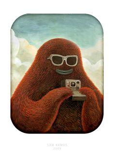 Polaroid Bruno by samowel on DeviantArt