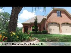 2172 N  Donahue Dr.- Auburn, AL (Debbie Whitley) Beautiful home in Highlands Subdivision just minutes from The Heart of Auburn! 4 Bedrooms 2 1/2 baths.Formal Dining Room with views of outdoor courtyard and lush landscaping! Gourmet Kitchen w/ Island & Breakfast area, Stainless Appliances & Granite Counter tops w/upgraded Oven & Dishwasher. Hardwood Floors and Fireplace Great Room! Master Suite on main level.Master Bath complete w/Double Vanities, Jetted Tub, Walk in Shower & Walk in Closet…