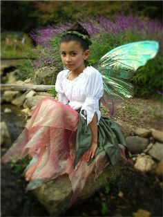 A Beautiful Woodland Fairy Costume For Kids