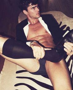 photo Gay lingerie porn
