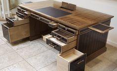 linley furniture | LINLEY | Bespoke design & furniture | Bespoke Desk with Secret Drawers