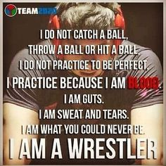 I wrestled and honestly I would love to step back on the mat. Do to my health I cannot though, I love this sport. #wrestling is true dedication and teaches #leadership and #teamwork all at the same time. Once you wrestle everything in life is easy....