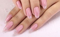 Beautiful nails 2016, Delicate spring nails, Exquisite nails, Fashion nails 2016, Long nails, March nails 2016, Nails ideas 2016, Nails with stones
