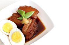 Buta Kakuni Recipe Details, Steak, French Toast, Japanese, Breakfast, Recipes, Food, Morning Coffee, Japanese Language