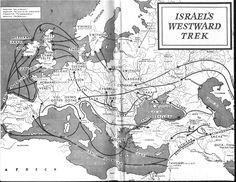 Migration of Japheth | The Great Pyramid Wallchart