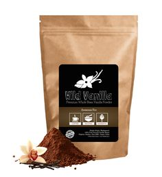 Wild Vanilla Powder, Organic Ground Whole Bean Vanilla Powder From Madagascar